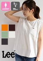 【 Lee リー 】 N/S CREWNECK クルーネック ノースリーブ Tシャツ LT7022