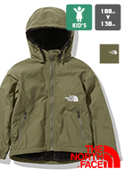 【THE NORTH FACE ザノースフェイス】キッズ Compact Nomad Jacket コンパクトノマドジャケット