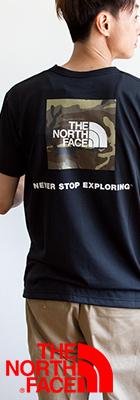 【THE NORTH FACE ザノースフェイス】S/S Square Camofluge Tee スクエアカモフラロゴS/S Tシャツ NT32158