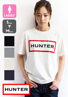 【 HUNTER ハンター 】レディース オリジナル プリント ロゴ Tシャツ WRJ1075JAS
