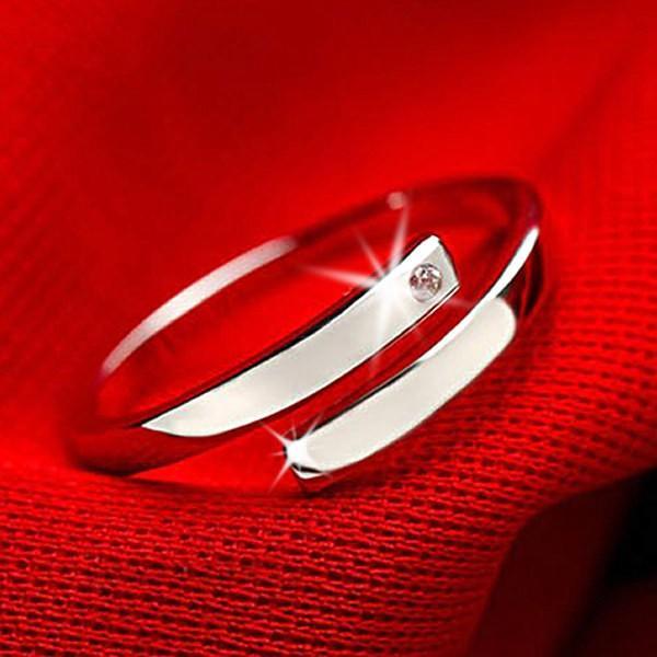クーポンで半額 指輪 サイズフリー/一粒 リング/指輪/レディース/プラチナ仕上げ/シルバー925 cz 誕生日 ギフト プレゼント セール アクセサリー|jewelryaska|11