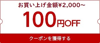 【期間限定100円OFFクーポン】