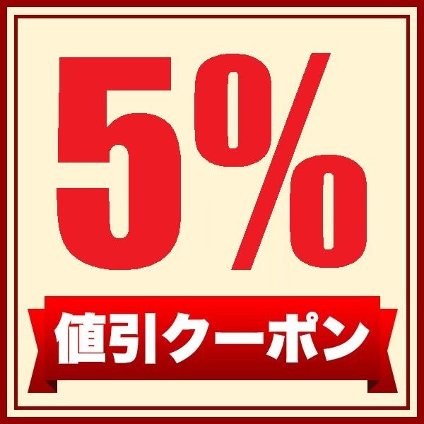 SHOPクーポン全品5%OFF