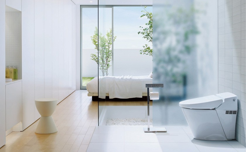 【トイレ】お手入れがカンタンで、いつでも