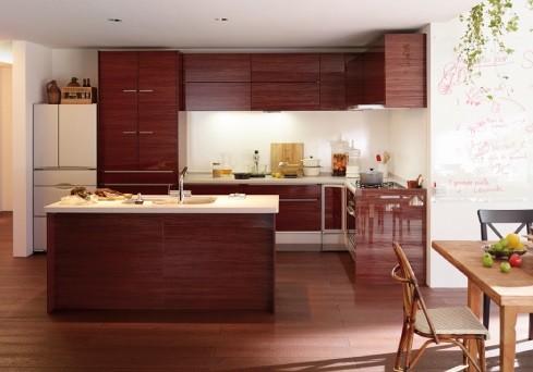 【キッチン】各メーカーの様々なタイプを豊