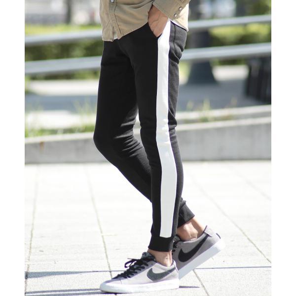 【ポイント2倍】 スウェットパンツ ジョガーパンツ メンズ ボトムス テーパードパンツ 伸縮 スリム 迷彩柄 サイドライン 春 春服 送料無料 jiggys-shop 28