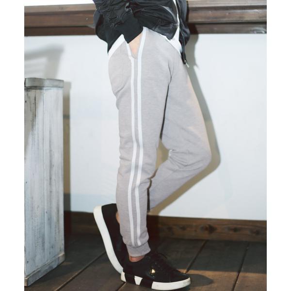 【ポイント2倍】 スウェットパンツ ジョガーパンツ メンズ ボトムス テーパードパンツ 伸縮 スリム 迷彩柄 サイドライン 春 春服 送料無料 jiggys-shop 34