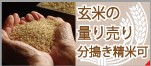 玄米の量り売り
