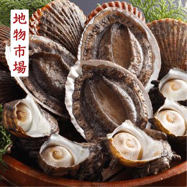 アワビ貝盛り3種セット