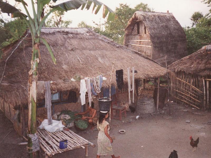インドネシア農村