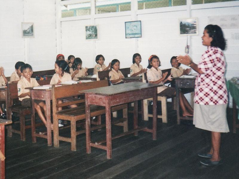 インドネシアの子供たち