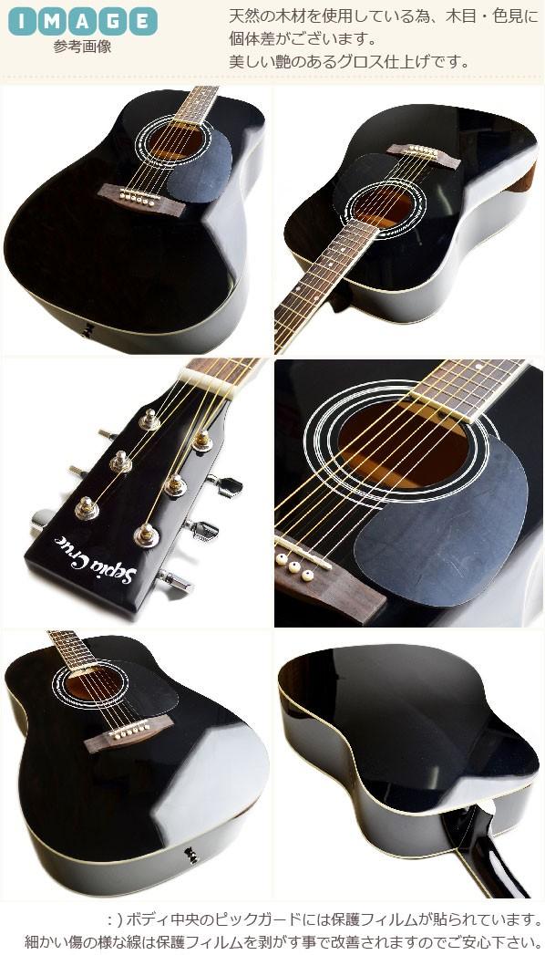 セフィアクルーアコギ wG-10 ブラック画像