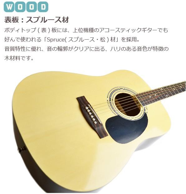 セピアクルーアコギ wG-10 詳細