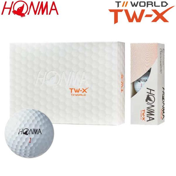 ff4dc173101e1 ホンマゴルフ TW-X ゴルフボール 1ダース(12球) 本間ゴルフ HONMA GOLF ...