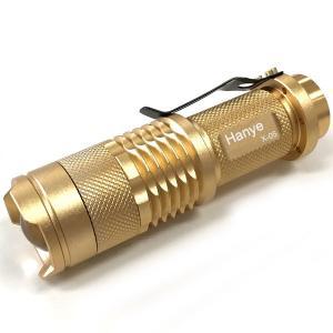 ハンディライト ハンドライト 防水 ズーム  LEDライト 懐中電灯 超高輝度LED 防犯 電池式 自転車用 ネコポス送料無料発送後3日以内配達|jnh|09