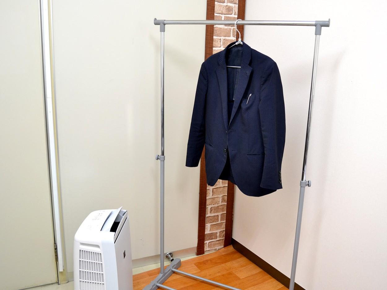 スーツの消臭にもオススメ