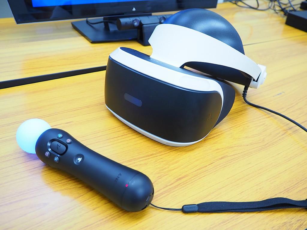 VRとモーションコントローラーを用意