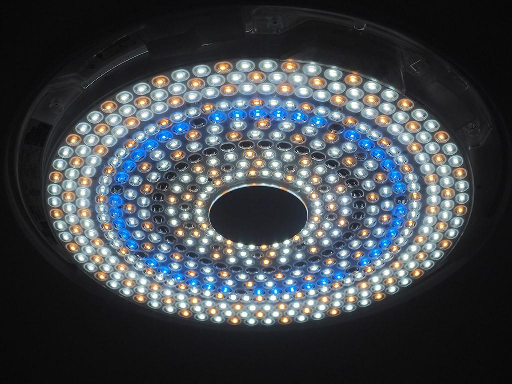 ラク見え時のLED電球の状態