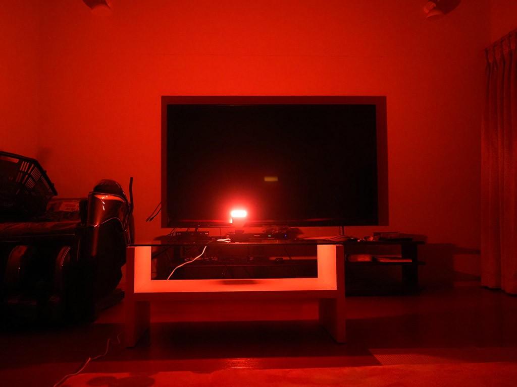 赤い明かり