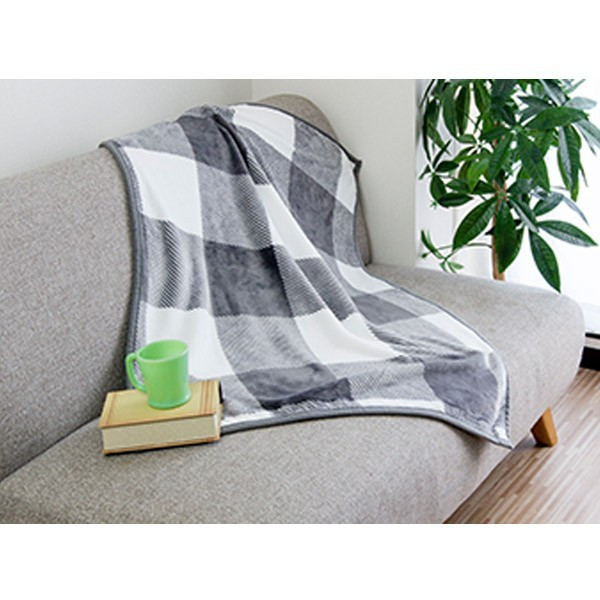 ブランケット ひざかけ 膝掛け 毛布 ひざ掛け おしゃれ ふわふわ 暖かい あったか プレゼント 寝具 防寒 オフィス 100×70cm フランネル マイクロファイバー|joyfulmart|12