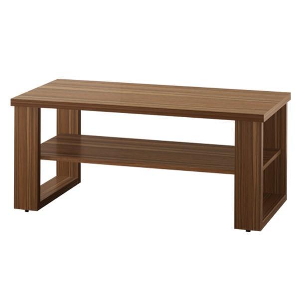 テーブル ローテーブル センターテーブル リビングテーブル コーヒーテーブル 木製 幅90cm x 奥行45cm x 高さ40cm 棚 棚付き 北欧 モダン 木目|joyfulmart|06