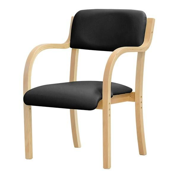 介護用椅子 ダイニングチェア 10色 椅子 スタッキングチェア 肘掛 ビニールレザー チェアー カフェ お年寄り プレゼント ギフト 贈り物 送料無料|joyfulmart|13