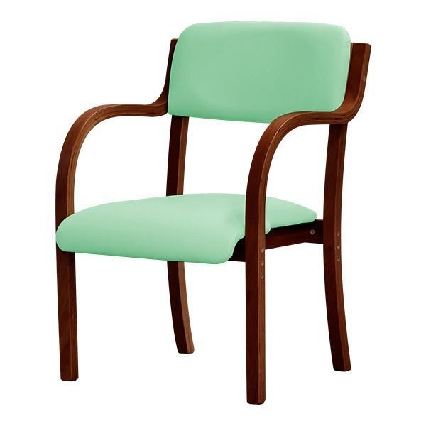 介護用椅子 ダイニングチェア 10色 椅子 スタッキングチェア 肘掛 ビニールレザー チェアー カフェ お年寄り プレゼント ギフト 贈り物 送料無料|joyfulmart|10