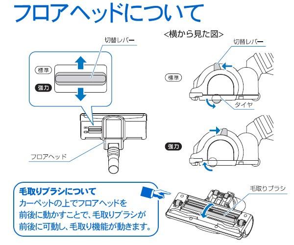 アイリスオーヤマ 毛取りヘッドサイクロンクリーナー CSK-165-P