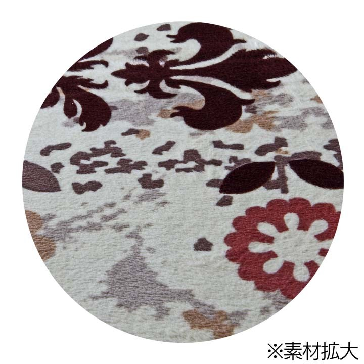 【ホットカーペットホットマットラグ絨毯暖房1畳マイクロファイバーUING〔ユーイング〕】