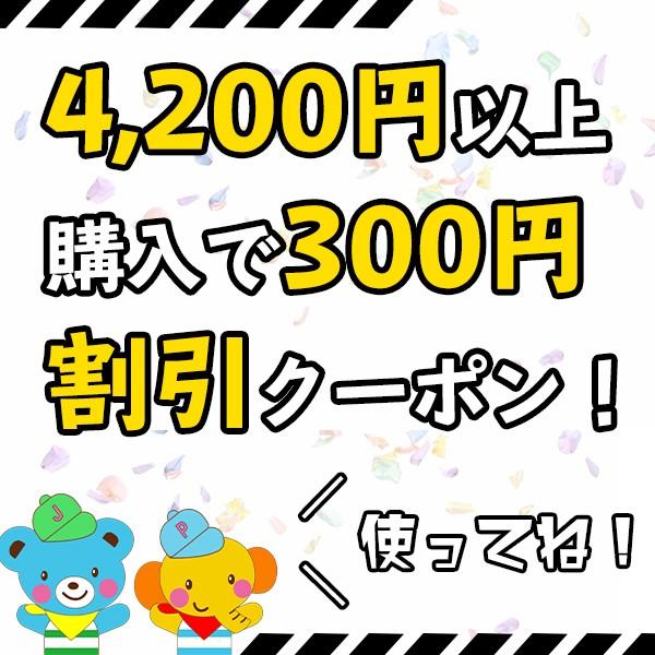 総額4.200円以上お買い物で300円割引
