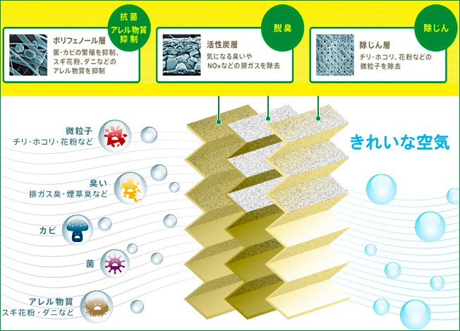 フレシャスプラスの三層構造