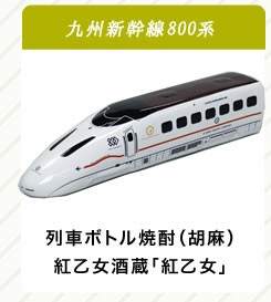 800系プレミアム列車ボトル焼酎