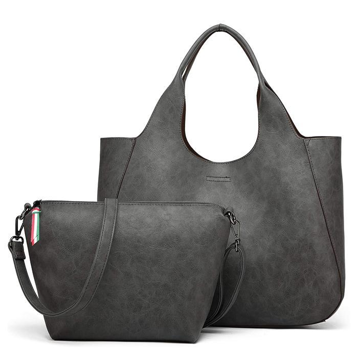 レディースバッグ トートバッグ 大きめ 12-0486 2way ショルダー バッグインバッグ PUレザー 大容量 軽量 A4  軽い 50代 40代 30代 20代 グッシオ専門店|jtr-store|23