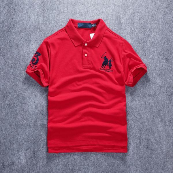 ポロシャツ メンズ 無地 刺繍入り 綿100% 柔らかい カラフル 16色展開 ゴルフウェア カジュアル 夏新作|justmode|29