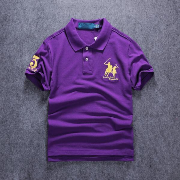 ポロシャツ メンズ 無地 刺繍入り 綿100% 柔らかい カラフル 16色展開 ゴルフウェア カジュアル 夏新作|justmode|37