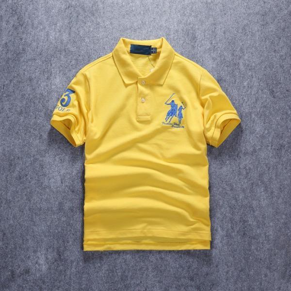 ポロシャツ メンズ 無地 刺繍入り 綿100% 柔らかい カラフル 16色展開 ゴルフウェア カジュアル 夏新作|justmode|34
