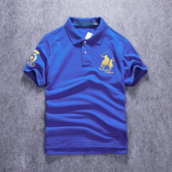 ポロシャツ メンズ 無地 刺繍入り 綿100% 柔らかい カラフル 16色展開 ゴルフウェア カジュアル 夏新作|justmode|25