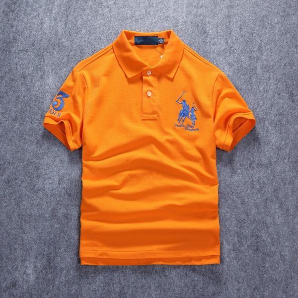 ポロシャツ メンズ 無地 刺繍入り 綿100% 柔らかい カラフル 16色展開 ゴルフウェア カジュアル 夏新作|justmode|36