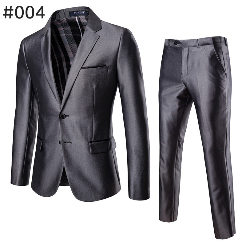 ダブルスーツ セットアップ メンズ 無地 レギュラー 紳士服 ビジネス スーツ フォーマル 披露宴 新作 カジュアル 大きいサイズ 5XLまで|justmode|15