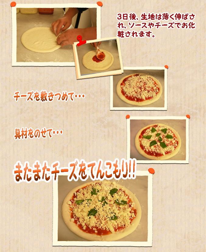 じゃんけんぽんのピザの素材