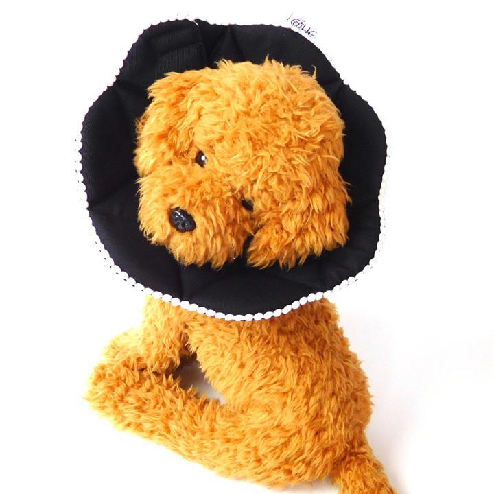 エリザベスカラー ソフト 犬 猫 マジックテープ 柔らかい 傷口 舐め 防止 犬服 トイプードル チワワ 犬 服 ドッグウェア 送料無料|k-city|17