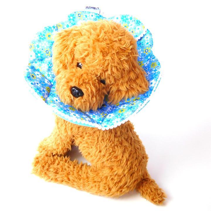 エリザベスカラー ソフト 犬 猫 マジックテープ 柔らかい 傷口 舐め 防止 犬服 トイプードル チワワ 犬 服 ドッグウェア 送料無料|k-city|14