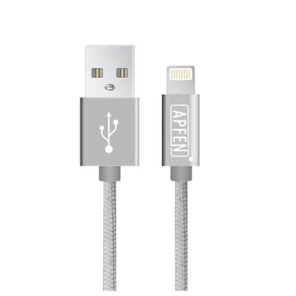 ライトニングケーブル Apple認証 Lightningケーブル MFi認証 iPhone XS iPhone XR ケーブル 純正品質 急速充電 1m iPod Pad データ転送 ナイロン製 アルミ端子|k-seiwa-shop|16