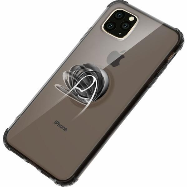 リング付きiphoneケース iPhone11 ケース iPhone11 Pro Max カバー iPhone11Pro ケース 耐衝撃 リング付き ストラップ機能 ガラスフィルム付き k-seiwa-shop 14