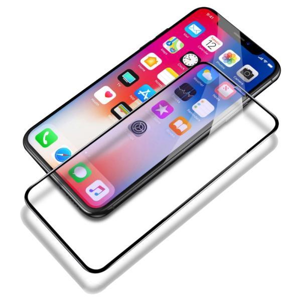 iPhoneXS Max iPhoneXS iPhoneX iPhoneXR ガラスフィルム 2枚セット iPhone8 Plus iPhone7 Plus iPhone6s 6 Plus 強化ガラス フィルム 3D 硬度9H 衝撃吸収|k-seiwa-shop|19