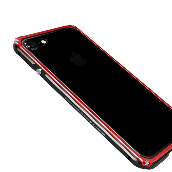 iPhone8 Plus 8 iPhone7Plus 7 ケース 耐衝撃 iPhoneXS Max XR X バンパー アルミ ストラップ機能 ワイヤレス充電可 iPhone6sPlus 6s 6 6Plus カバー おしゃれ k-seiwa-shop 20