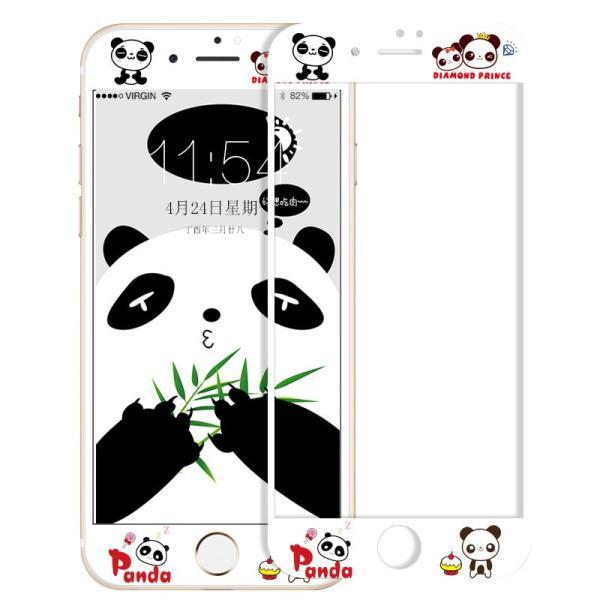 iPhone8 Plus ガラスフィルム 全面 iPhone7Plus 7 8 強化ガラスフィルム iPhone6s Plus 6 Plus 6s 6 ガラスフィルム 3D 耐衝撃 猫柄 9H かわいい 指紋防止|k-seiwa-shop|17
