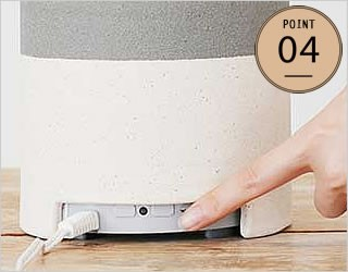 アロマ 加湿器:リモコン付き