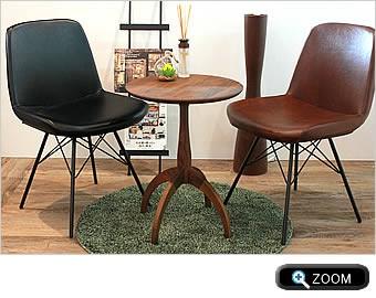 サイドテーブル:カフェスタイル