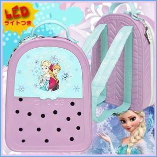 crocslights backpack disney frozen クロックスライツ バックパック ディズニー アナと雪の女王 正規品